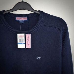 Vineyard Vines Crewneck Whale Sweater L Cotton